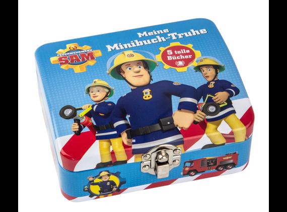 Meine Minibuch-Truhe: Feuerwehrmann Sam
