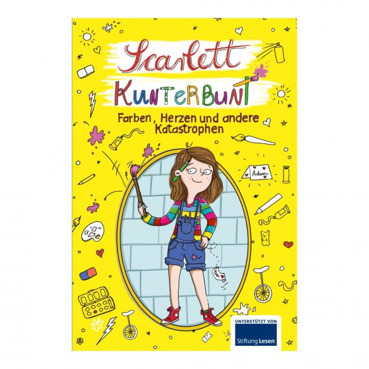 Ferien-Lesebuch: Scarlett Kunterbunt
